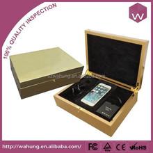 gold high glossy color phone case box,universal phone unlocking box