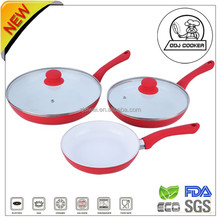 LFGB&FDA Forged Frypan /Ceramic Fry Pan/3 pcs Frying Pan Set/As Seen on Tv