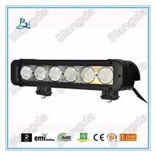 one single row 10w cre e offroad led light bar for truck,4x4,ATV,UTV SUV