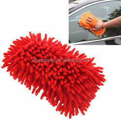 Ultrafine Fiber Chenille Anthozoan Car Washing Gloves Multi-functional Magic Car Brush