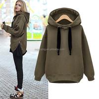 Best Selling Wholesale Women Thick Fleece Pullover Hoodies