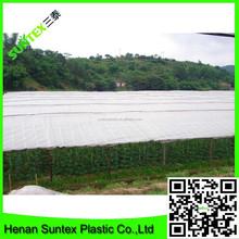 HOT SALE ! acid rain transparent woven greenhouse film for fruit protection