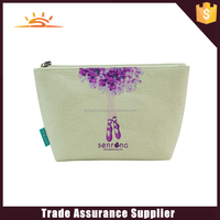 Hot selling natural cotton cosmetic bag