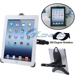 Smart 360 Degree Rotation Vehicle Rear Seat Holder For iPad iPad 3 iPad 2