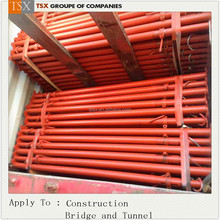 Tianjin TSX Groupe TSX-P20370 STK400 steel prop / prop jack support / adjustable shoring posts for construction