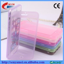 Ultra Thin Soft Cover For iPhone 6 TPU Flip Case,Ultra Slim TPU Case For Apple 6