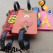 wholesale silicon rubber luggage tag
