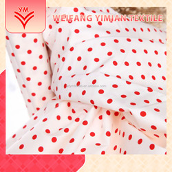 Discount Fabric Dots Printed With Words