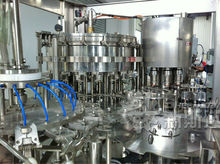 CE standard carbonated water filling and sealing plant