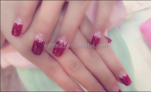 fashion nail art luminescent pigment which can glow bright color in the dark