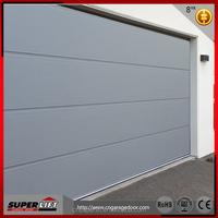 Cheap PU foam automatic garage door / Sectional automatic sliding garage door