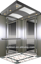 Etching Finishes Cabin Wall Passenger Lift