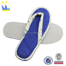 Fashion flower design lady indoor slipper