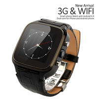 Android 3g Smart Phone Watch via Free shipping with IPS Touch Screen Support GPS and WIFI