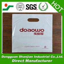 Designer shopping clear plastic bags dongguan