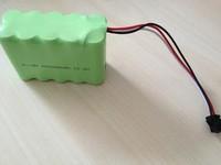 ni-mh battery pack aaa 600mah 3.6v