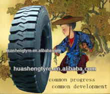 wholesale truck tires from china suitable for mine roads