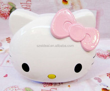 Newest products Hello Kitty shape move power bank for promotional gifts