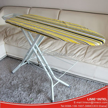 New product mesh top adjustable ironing board with four Y leg