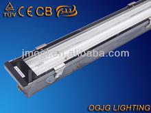 high quality outdoor lighting, T5 2x28w waterproof fluorescent light fixture IP67