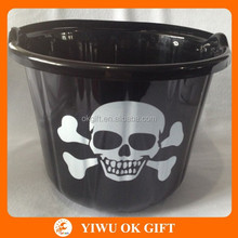 Skull Halloween Bucket ,Halloween candy bucket,Halloween pail wholesale