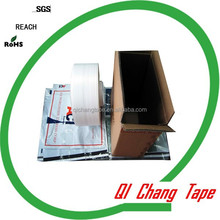 quality cold resistance hot melt adhesive tape for air bubble envelope and poly bags
