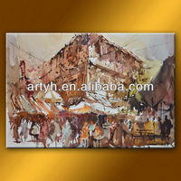 Top class museum quality modern abstract canvas art from factory