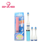 Hot sonic electric toothbrush with solid toothbrush holder for electric toothbrushes