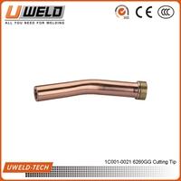 6290GG Cutting Tip gas cutting nozzle Propane Cutting Nozzle