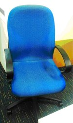 used office chairs - executive type with wheels