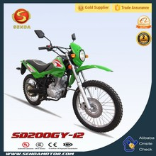 Dirt Bike 4 Stroke Engine Type Mini Pocket Bike Motorcycle SD200GY-12