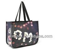 laminated waterproof shopping bag non woven