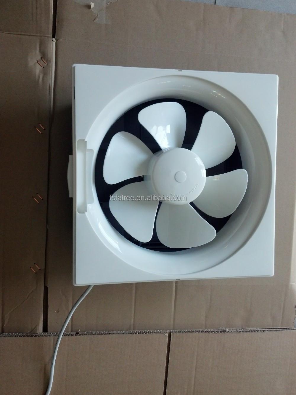 Air Flow Exhaust Fan Wall Mount 12 Inch Ventilation Fan For Kitchen ...