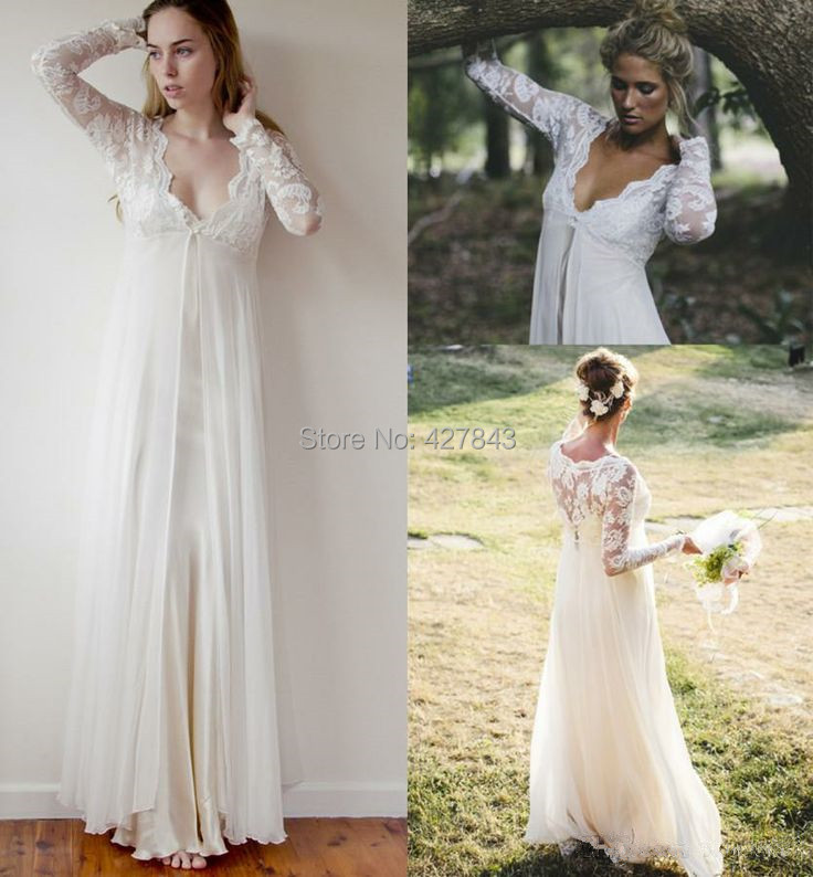Simple Hippie Wedding Dresses Simple Bohemian Wedding Dress