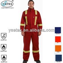 Xinxiang best quality EN14116 flame retardant garment for industry field