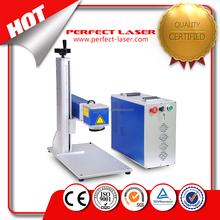 10w /20w smart distortion print fiber laser marking machine