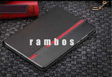 Housse Etui Coque Hit Contrast Painting Slim Leather Back Cover Tablet Cases for iPad 2 3 4