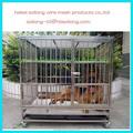 Anping fábrica venta al por mayor grande jaula de perro con el precio barato