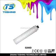 Copier toner cartridge TYPE 5200D Compatible Lanier 5255/5265 885050/885240 toner