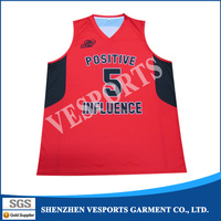 Best polyester basketball jersey logo and pattern design youth basketball jersey reversible