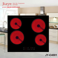 SAA Compliance Built In Electric Ceramic Hob for Australia Market JY-C4001