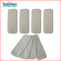 New High Absorbency Bamboo Microfiber Cloth Diaper Cover Inserts