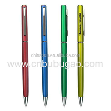 New design school supplies slim metal pen thin metal pen fountain pen