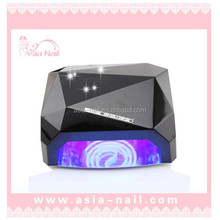 2015 exclusive special bin diamond shape ccfl nail lamp ccfl uv led lamp uv 36w