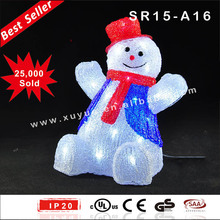 Lighted outdoor christmas decoration supplies