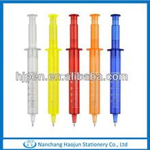 New Plastic Ball Pen,Syringe Shaped Pen,Syringe Pen