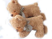 factory direct sleeping teddy bear toy,stuffed&plush toy animal