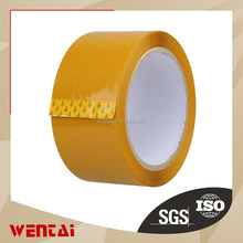 This low price !Earth yellow waterproof BOPP color adhesive Tape