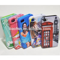 3D Sublimation Phone Cases/ Blank sublimation phone cover/ Dual sublimation case