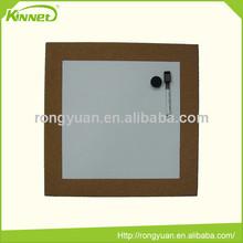 Magnetic metal sheet cork tile corrugated cardboad combo board